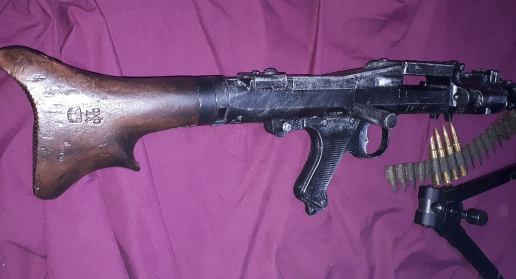 replica machine gun australia