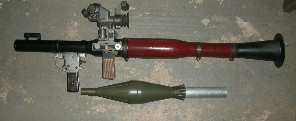machine gun and ordnance